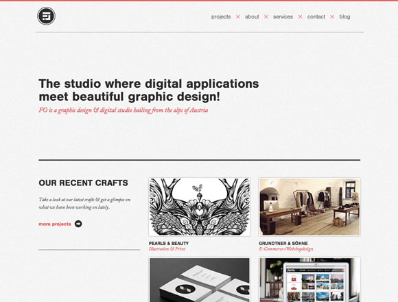Inspiring Minimal Websites