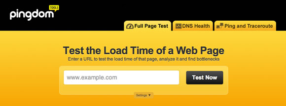 Free Tools for Testing The Speed Of Your Website - 5