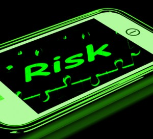 Risk On Smartphone Shows Unstable Situation Or Monetary Crisis